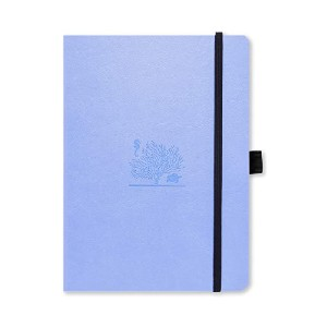 Dingbats Earth Dotted Journal  - Best Notebook for Meeting Notes: Totally vegan!