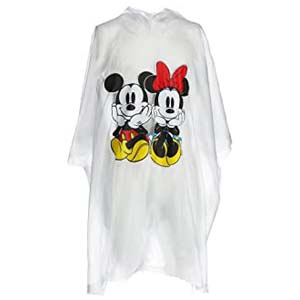 Disney Mickey Minnie Sitting Family Rain Poncho - Best Raincoats for Disney: Free from getting drenched