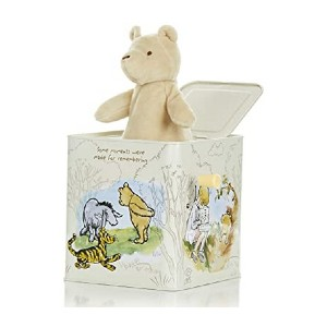 Kids Preferred Classic Winnie The Pooh Jack-in-The-Box - Best Music Box for Toddlers: Bring Winnie The Pooh back