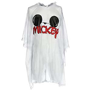 Disney Men's Mickey Mouse Ears Rain Poncho - Best Raincoats for Disney: Easy to put it on and off