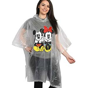 Disney Mickey & Minnie Mouse Rain Poncho Hoodie Print - Best Raincoats for Disney: Free from getting drenched