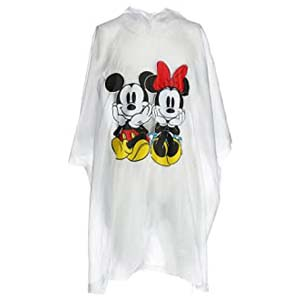 Disney Mickey and Minnie Mouse Rain Poncho - Best Raincoats for Disney: Free from getting drenched