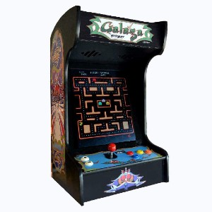 Doc and Pies Arcade Factory Classic Home Arcade Machine - Best Multi Game Arcade Machine: Easily Set Your Machine on The Table Top