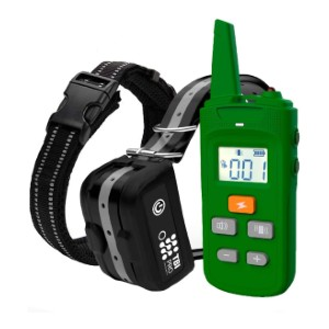 TBI Pro Dog Training Collar with Remote - Best Dog Training Collar for Large Dogs: Military Grade IPX7 Waterproof