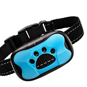 DogRook Rechargeable Dog Bark Collar - Best Dog Training Collar for Small Dogs: Works in Automatic Mode