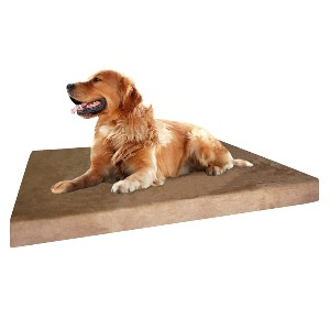 Dogbed4less  Memory Foam Dog Bed - Best Dog Beds for Older Dogs: Bed with Triple Covers