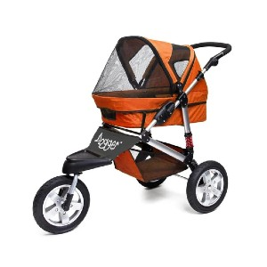 Dog Quality Dogger - Best Dog Strollers for Running: Equipped with Real Rear Suspension