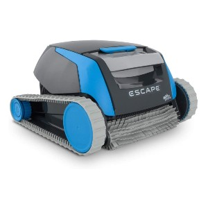 DOLPHIN Escape Robotic Above Ground Pool Cleaner - Best Robotic Pool Cleaner for Leaves: Automated Pool Vacuum