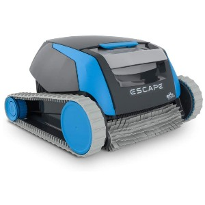 DOLPHIN Escape Robotic Above Ground Pool Cleaner - Best Automatic Pool Cleaner Above Ground: Hyper Grip Wheels
