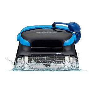 DOLPHIN Nautilus CC Plus Robotic Pool [Vacuum] Cleaner - Best Robotic Pool Cleaner for Leaves: Smart Technology Cleaner