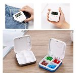 10 Reviews: Best Pill Boxes with Alarm (Oct  2020): Portable Pillbox for Daily Usage
