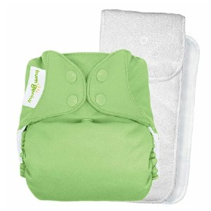 bumGenius Doodles Collection - Best Cloth Diaper for Newborn: Six layers of absorbency