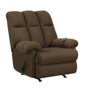 Ashley Furniture Dorel  - Best Recliners for Big and Tall: Traditional Zone Massage Chair with High and Low Settings