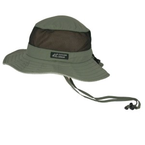 Dorfman Pacific Men's Boonie Mesh sides Hat - Best Bucket Hats for Golf: Bucket Hat with Mesh Sides