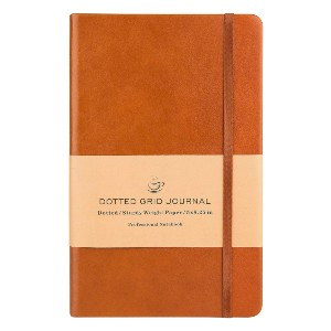 Poluma Dotted Grid Notebook/Journal - Best Notebooks for College: Premium and Luxurious Cover