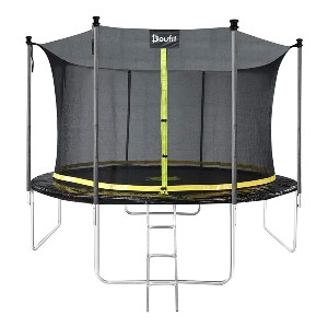 Doufit 12FT Trampoline with Enclosure Net TR-06 - Best Trampoline with Net: A whopping 1650 lbs capacity