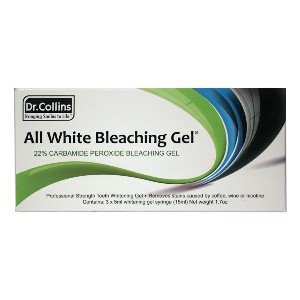 Dr. Collins All White Bleaching Gel - Best Teeth Whitening Gel: Water Based with a Neutral pH