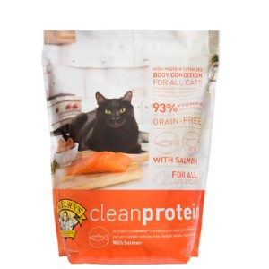 Dr. Elsey's leanprotein Salmon Formula Grain-Free Dry Cat Food - Best Food for Cat to Gain Weight: Highly Digestible Protein
