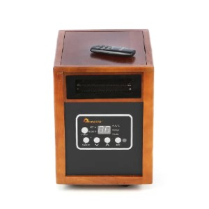 Dr. Infrared Heater 1,500 Watt Portable Electric Infrared Cabinet Heater - Best Energy Efficient Space Heaters: Automatic shutoff protection mechanism