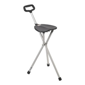 Drive Medical Deluxe Folding Cane Seat - Best Cane for Tall Man: For mobility problems