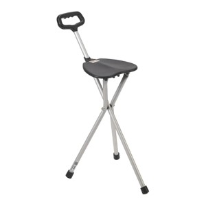 Drive Medical  Deluxe Folding Cane Seat - Best Cane for Heavy Person: For taller people