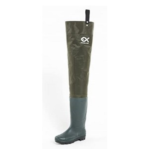 Duck & Fish Green Fishing Wader Hip Boots - Best Hip Waders for Fishing: Lighter and more durable