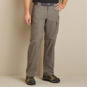 Duluth Trading Men's DuluthFlex DOTF Relaxed Fit Convertible Pants - Best Cargo Pants for Work: Cargo Pants with Hidden Pocket