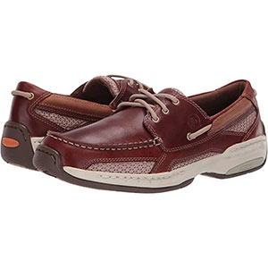 Dunham Captain - Best Waterproof Shoes for Nurses: 360 Degree Lacing System Secures Forefoot and Heel
