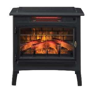 Duraflame 3D Infrared Electric Fireplace  - Best Electric Fireplace Freestanding: Remarkably realistic flames