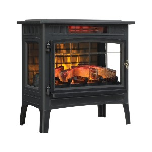 Duraflame 3D Infrared Electric Fireplace  - Best Electric Fireplace for Bedroom: Best popular pick