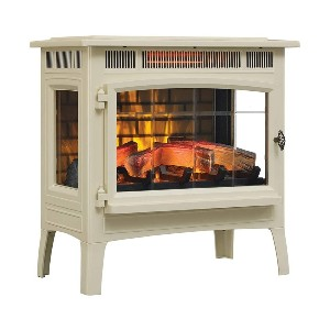 Duraflame 3D Infrared Electric Fireplace Stove DFI-5010 - Best Electric Fireplace for RV: Best popular pick
