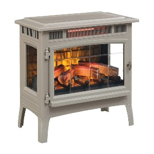 Duraflame 3D Infrared Electric Fireplace Stove  - Best Electric Fireplace for Basement: Best for big basement