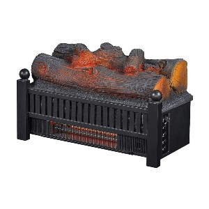 Duraflame ElectricLog Set Heater  - Best Electric Fireplace for Large Room: Soothing crackling sounds