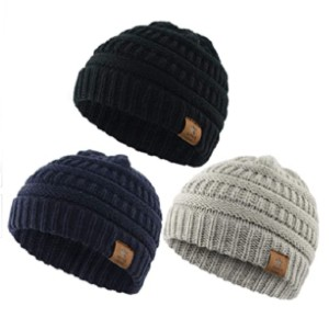 Durio Soft Warm Knitted Baby Hats - Best Beanies for Babies: Soft and Breathable Material