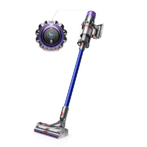Dyson V11 Torque Drive Cord-Free Vacuum - Best Cordless Vacuum Cleaner for Hardwood Floors: LCD Screen Monitor