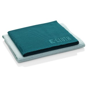 E-Cloth Window Cleaning Pack - Best Towel to Clean Car Windows: Waffle Texture Towel