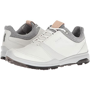 ECCO Biom Hybrid 3 GTX - Best Waterproof Golf Shoes: Adjustable Lace-up Closure for A Secure Fit