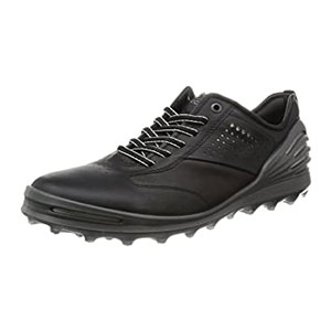 ECCO Men's Cage Pro Golf Shoe - Best Waterproof Golf Shoes: Durable and Easy to Clean