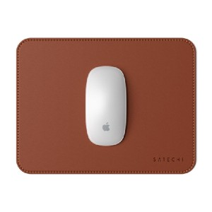Satechi ECO-LEATHER MOUSE PAD - Best Mouse Pad for Magic Mouse: Water-Resistant Eco-Leather Surface