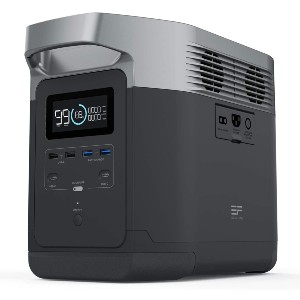 EF ECOFLOW Portable Power Station DELTA - Best Power Station for Home: 13 individual ports