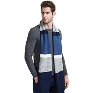 EINSKEY Mens Winter Wool Scarf - Best Scarves for Winter: Fashion for all occasions