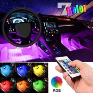 EJ's SUPER CAR Car LED Strip Light - Best LED Interior Lights for Cars: Play with colors