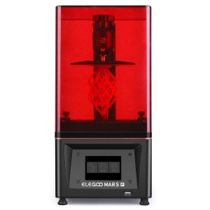 ELEGOO Mars Pro LCD MSLA 3D Printer With Air-Purifier - Best 3D Printers for Action Figures: Z-Axis Utilize Linear