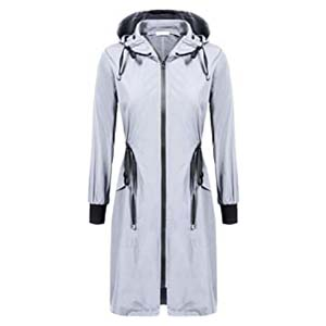 ELESOL Women's Lightweight Waterproof Raincoat - Best Raincoats Amsterdam: Protects you from head to toe