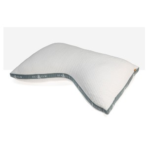 ELI & ELM COTTON SIDE-SLEEPER PILLOW - Best Pillow for Side and Back Sleepers: Unique Shape Pillow