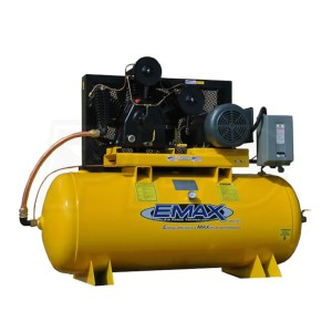 EMAX EP10H120Y1 - Best 2 Stage Air Compressors: Powers larger areas