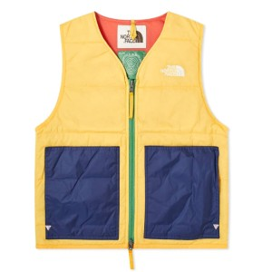 The North Face BRAIN DEAD X THE NORTH FACE SIERRA VEST - Best Vests for Winter: Stunning Color Vest