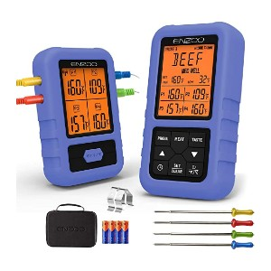 Enzoo Meat Thermometer - Best Smart Food Thermometer: Dedicated remote