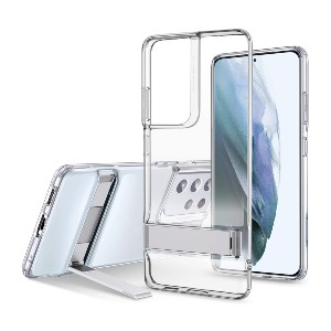 ESR Metal Kickstand Case  - Best Phone Cases for S21 Ultra: Hands-Free Phone Case