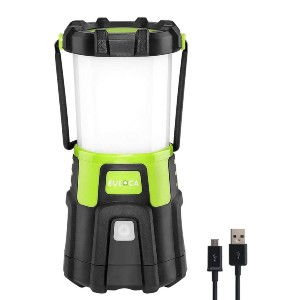 EULOCA Camping Lantern LED - Best Rechargeable Lanterns: You Can Charge the Light Via Offered Micro USB Cable